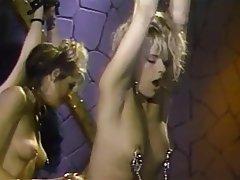 BDSM, Lesbisch, Blondine, Brünette
