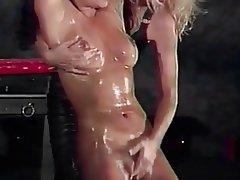 Lesbisch, Blondine, Brünette, BDSM