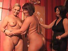 Amateur, Lesbian, MILF, Threesome
