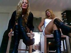 BDSM, German, Foot Fetish, POV