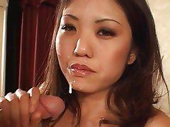 Interracial, Asian, Big Boobs, Brunette