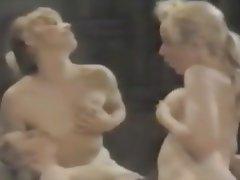 Lesbian, MILF, Nipples, Threesome