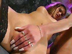 Nerd, Dildo, Lesbian, Masturbation
