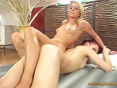Czech, Kissing, Lesbian, Massage