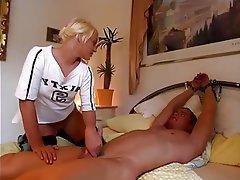 CFNM, Cuckold, Femdom, German