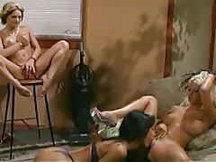 Blonde, Brunette, Lesbian, Masturbation
