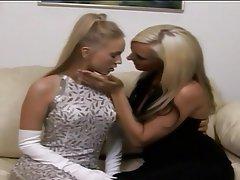 Blonde, Lesbian, Lingerie