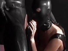 hooded blowjob