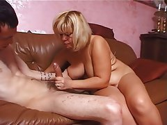 BBW, Big Boobs, Blonde, MILF