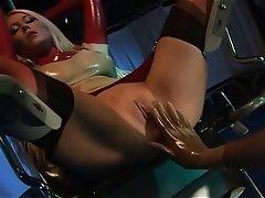 British, Hardcore, Stockings, Threesome