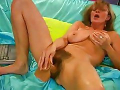 Hairy, Masturbation, Squirt