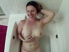Amateur, Bathroom, Blowjob, Couple