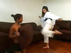 BDSM, Femdom, Fuß Fetisch, Lesbisch