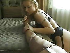 Babe, Lesbian, Lingerie, Masturbation