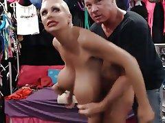 Big Boobs, Blonde, Pornstar, Webcam