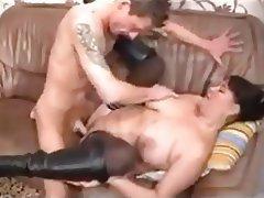 BBW, Big Boobs, German, Hardcore