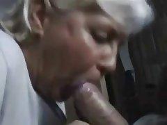 Blowjob, Granny, Masturbation