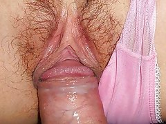 Close Up, Creampie, Japanese, Masturbation