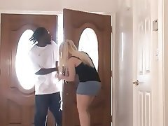 Big Butts, Blonde, Blowjob, Interracial