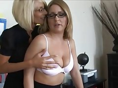 Grosse Boobs, Blondine, Lesbisch, Sonderlings