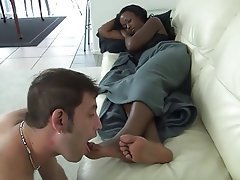 Femdom, Foot Fetish, Interracial, Softcore