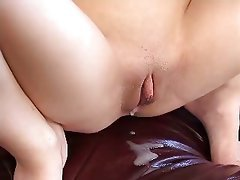 Brunette, Creampie, Swinger, Threesome