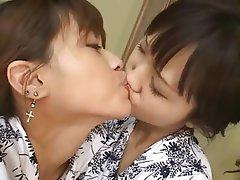 Asiatisch, Baby, Nahes Hohes, Japanisch