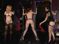 Lesbisch, BDSM, Rothaarige, Femdom