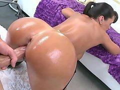Big Ass, Brunette, Doggystyle, Fucking