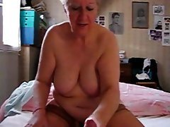 Amateur, Granny, Masturbation, Webcam